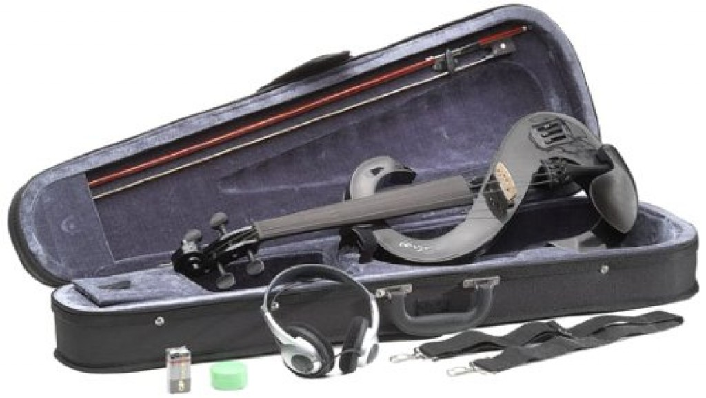 Stagg EVN BK 4/4 Silent Electric Violin