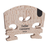 Aubert 9145-44 Teller Germany U Insert Semi Fitted Violin Bridge