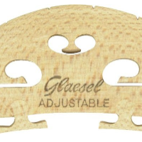 Glaesel GL33524L Self-Adjusting Full Size 4/4 Violin Bridge