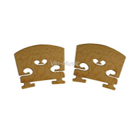 YMC Violin-Bridge-4/4-2PC Maple Violin Bridges, 2 Piece