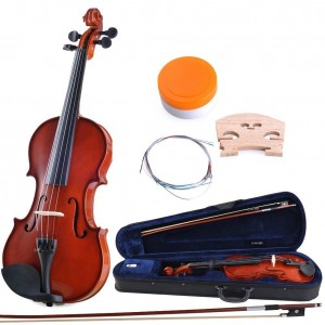 ADM Handcrafted Solid Wood Student Violin